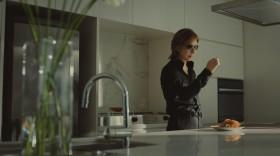 キッチンに立つYOSHIKI