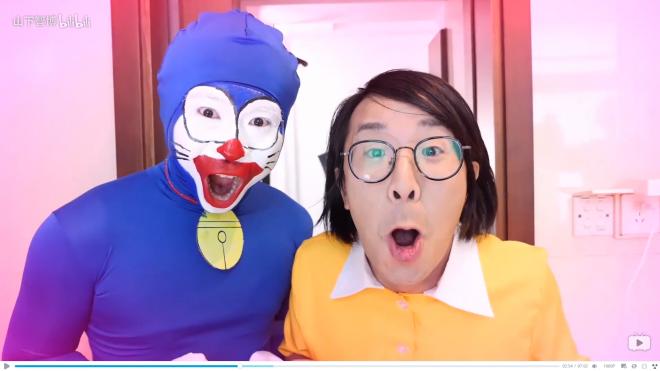 中国の動画サイトで展開、山下智博のバラエティ番組『紳士の大体一分間』より