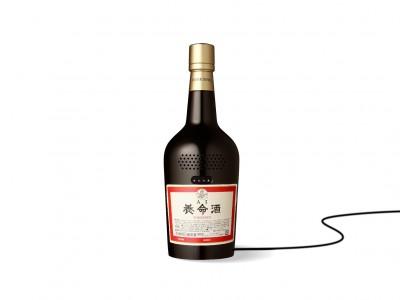 養命酒型スマートスピーカー『AI養命酒』