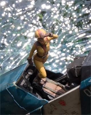 作品名「Cenote」 (第14回全国オラザク選手権 大賞受賞作品)(C)創通・サンライズ