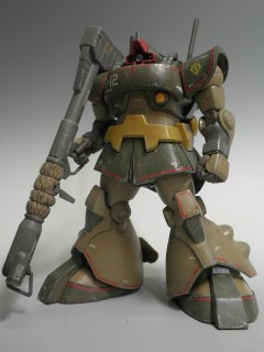 『機動戦士ZZガンダム』ドワッジ(HGUCドムBクラブの改造パーツを使って制作)制作:市川貴秀 (C)創通・サンライズ