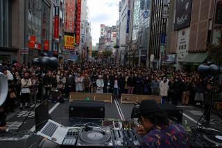 昨年の『渋谷音楽祭』の模様