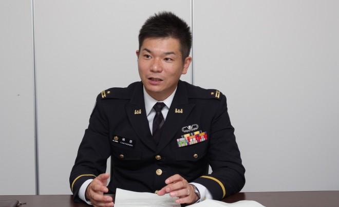 防衛省陸上幕僚監部 林田賢明 3等陸佐