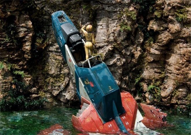 作品名「Cenote」 (第14回全国オラザク選手権 大賞受賞作品) 制作:あに (C)創通・サンライズ