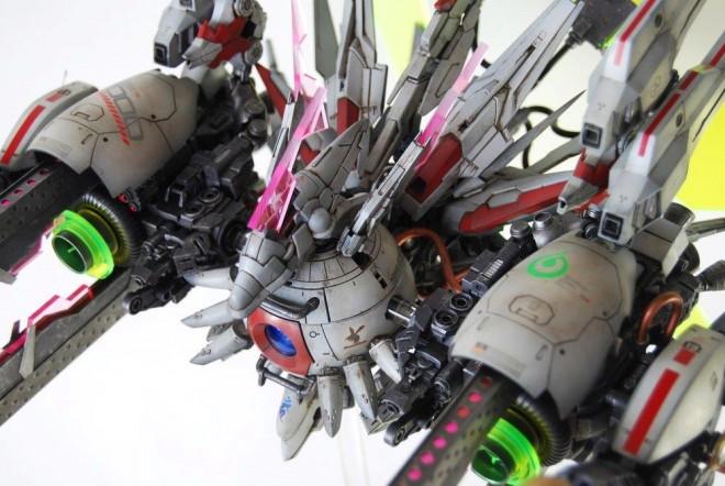 作品名:スティンガーフォトンボール(ボール) 2014年「GBWC」日本大会3位入賞作品(C)創通・サンライズ