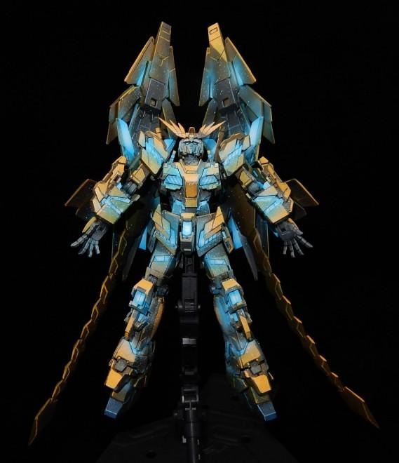作品名:イラスト風模型・ユニコーンガンダム3号機 フェネクス 製作・今日