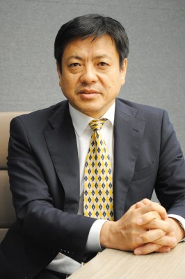 MCIPホールディングス代表取締役社長の清水英明氏