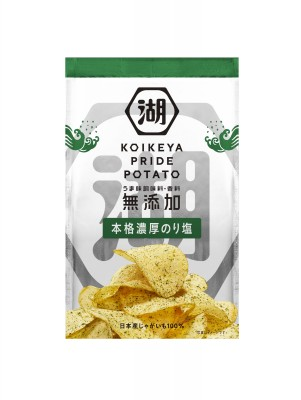 『KOIKEYA PRIDE POTATO』のり塩味