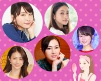 """第12回 女性が選ぶ""""なりたい顔""""ランキング"""