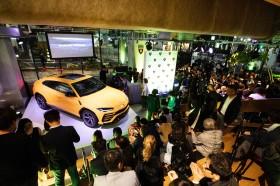 『Lamborghini Night』には大勢の人が詰めかけた