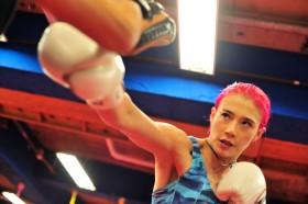 モデルボクサー・高野人母美、日本でのキャリアを捨て渡米「グローブ片手に世界を回りたい」