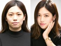 """【詐欺メイク】nanachannel・ななみ、""""北川景子ものまねメイク""""大公開! 切れ長猫目のアイメイクがポイントに"""
