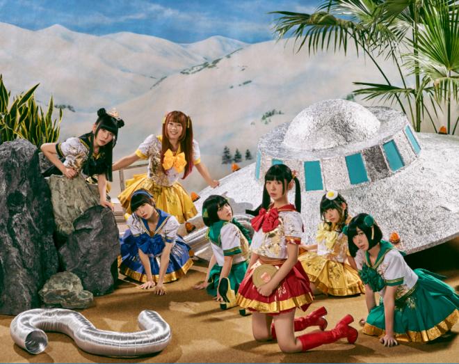 2019年1月1日にアルバム『ワレワレハデンパグミインクダ』をリリースする、でんぱ組.inc