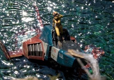 作品名「Cenote」 (第14回全国オラザク選手権 大賞受賞作品)制作:あに (C)創通・サンライズ