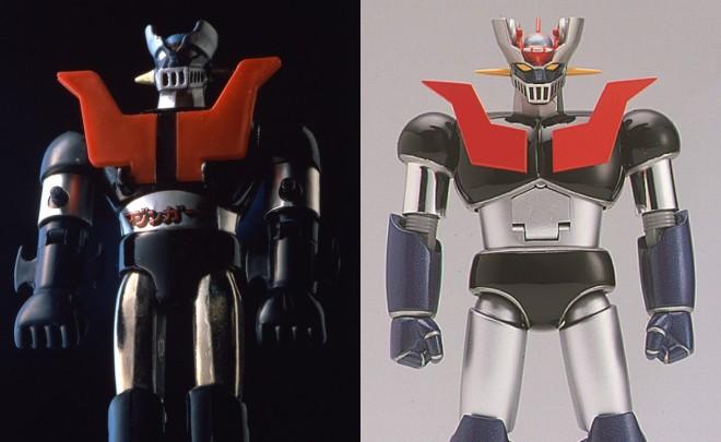 超合金「マジンガーZ」、超合金魂 GX-01 マジンガーZ(左から)(C)ダイナミック企画