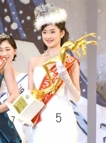 ミス日本グランプリ2019でグランプリに輝いた度曾亜衣子さん
