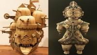 スタバのスリーブで作った土偶に反響、SNS発信が自己解放に「趣味を肯定できた」