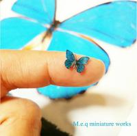 """新種にしか見えない""""ミニチュア昆虫""""の正体は樹脂粘土 「昆虫本来の美しさや特徴を表現したい」"""