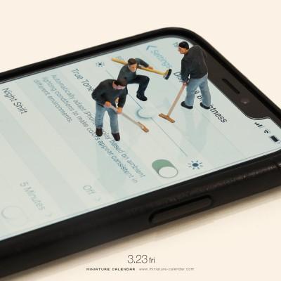 『Tuning Curling』「もっと明るくー」「そだねー」 2018.3.23 (C)Tatsuya Tanaka