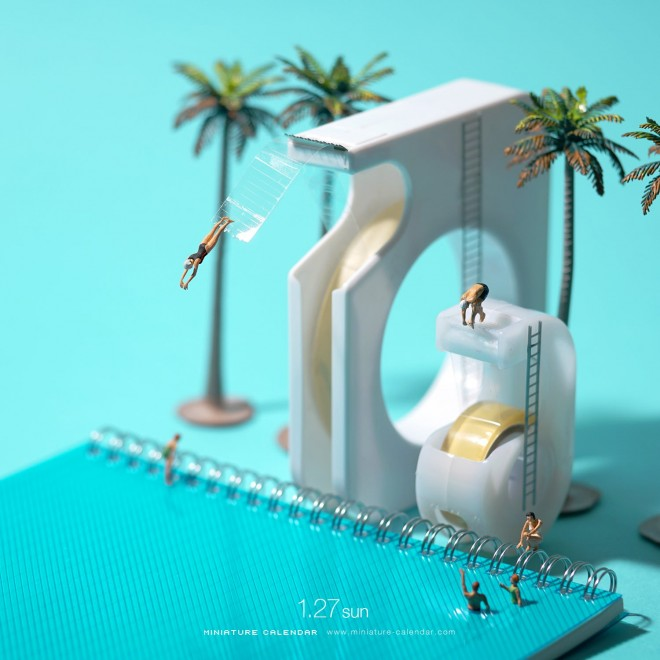 『Tape Pool』思っていたより高カッター 2019.1.27 (C)Tatsuya Tanaka