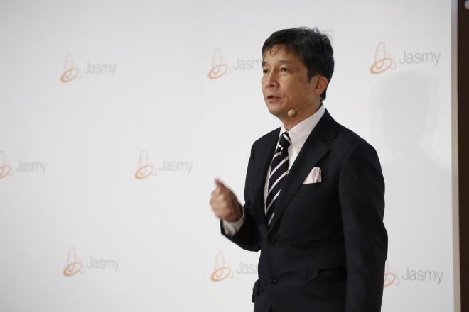 吉田雅信氏(ジャスミー株式会社 取締役副社長CTO)はプレゼンで「データの民主化」を強調