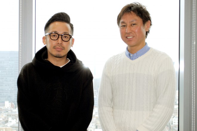 (左から)エイベックス グループ執行役員 CEO直轄本部 本部長 加藤信介氏/エイベックス・マネジメント AMG執行役員 都築裕五氏