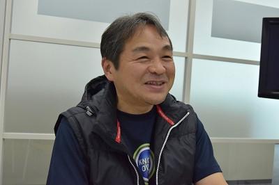 プロデューサーの菊地武氏