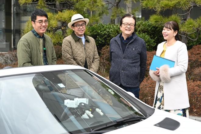 BS日テレ『おぎやはぎの愛車遍歴 NO CAR NO LIFE!』(4/20放送 ゲスト:大和田伸也) (C)BS日テレ