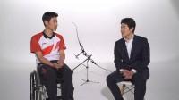 鈴木亮平がパラアーチェリー・上山選手にツッコむ!?  「東京2020 大会」へ懸けるそれぞれの熱意