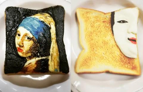 """おかんが作る""""奇妙なトースト""""に反響、""""映え意識""""持たない理由「脱力してほしい」"""