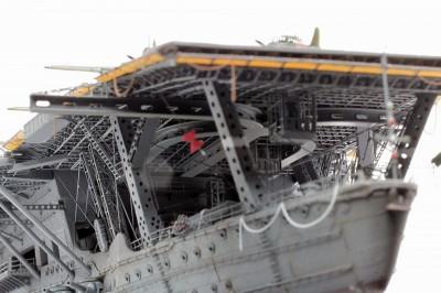 作品名:1/700 旧日本海軍航空母艦「赤城」 製作:R工廠