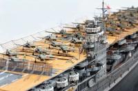 """【1/700 スケールモデル】艦載機のサイズはわずか1センチ、旧日本海軍航空母艦「赤城」に見る""""不完全さ""""の魅力"""