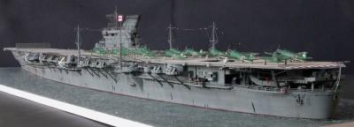 作品:1/300航空母艦「大鳳」フルスクラッチ 制作:けんちっく