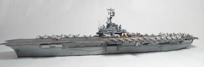 作品:アメリカ海軍航空母艦オリスカニー※『艦船模型スペシャル』掲載