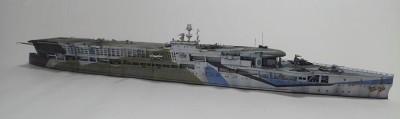 作品:イギリス海軍航空母艦フューリアス※『艦船模型スペシャル』掲載