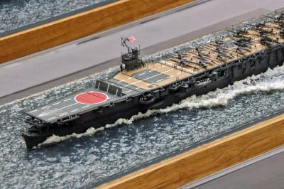 作品:1/700航空母艦「蒼龍」※ 「艦船模型スペシャル No69」掲載作例