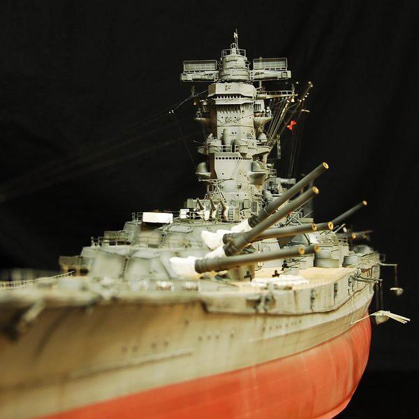 作品:1/200 大日本帝国海軍戦艦「大和」/制作:海志