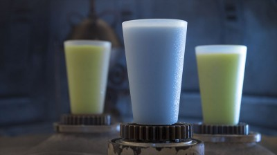 ブルーミルク、グリーンミルク