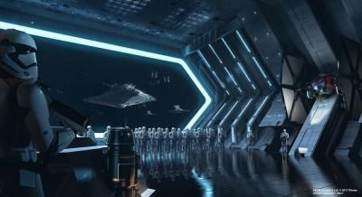 スター・ウォーズ:ライズ・オブ・ザ・レジスタンスは、2019年秋以降にオープン予定(イメージ画像)