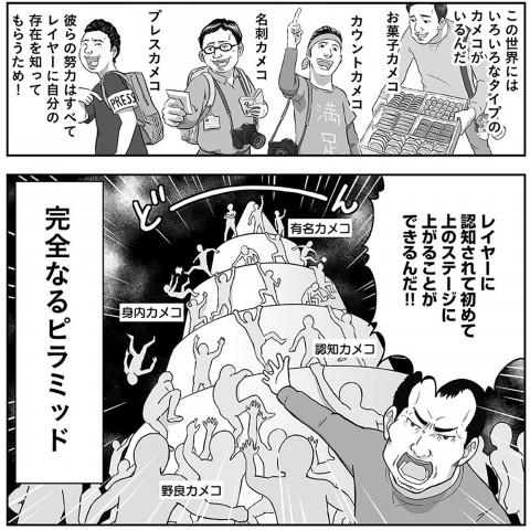 漫画『野良カメコのピラミッド』/著:だよね
