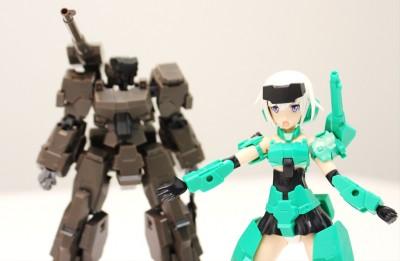 『フレームアームズ』三二式一型 轟雷:REと、それを美少女化した『フレームアームズ・ガール』轟雷