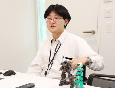 「コトブキヤ(KOTOBUKIYA)」で企画チームのマネージャーを務める野内秀彦氏