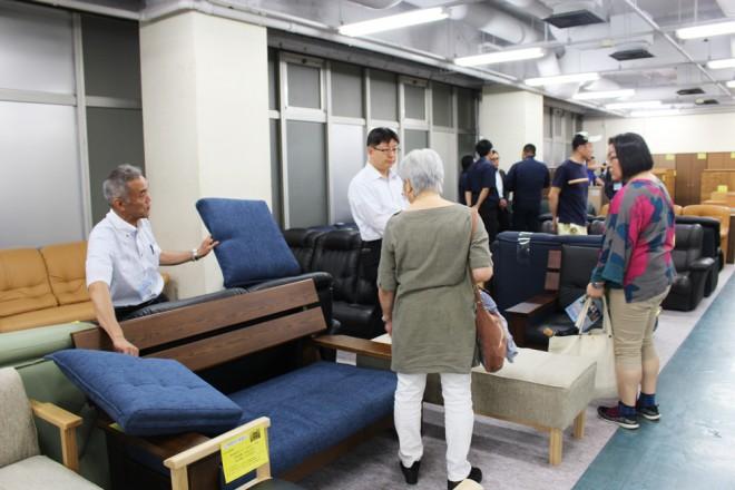 「第61回全国矯正展」で出展された大型家具(C)oricon ME inc.