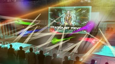 日本初の体験型ドローンシューティングアトラクション「STARDUST TRYOUT 〜 Drone Shooting Battle〜」