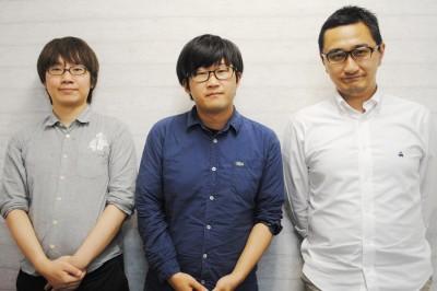 左から加々見翔太氏(コバルト爆弾αΩ)、tomad氏(Maltine Records 主宰)、山村賢太郎氏(BlockBase 取締役 COO)
