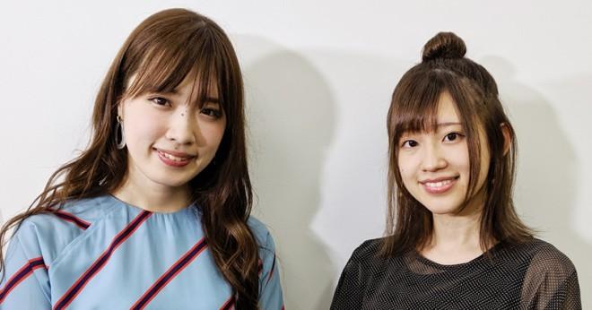 大原ゆい子と高橋李依(右)