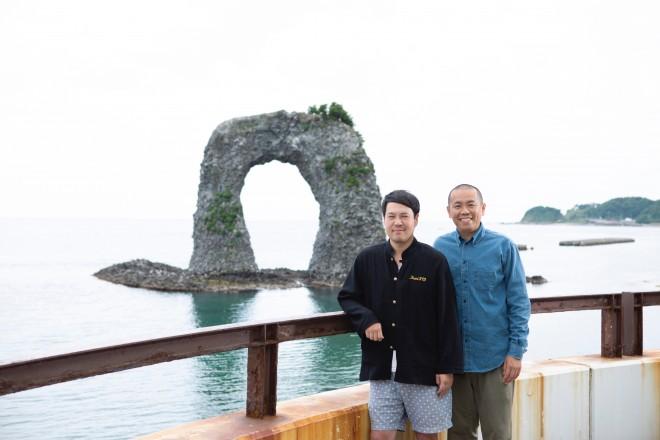 地元北海道の魅力や、気になる「2人の今後」について語ったタカアンドトシ(C)UHB/YOSHIMOTO KOGYO