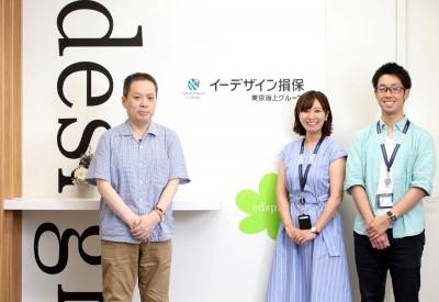 (左から)新CMへの想いを語った小霜さん、安藤さん、原田さん