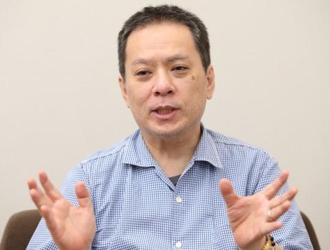 新CMの演出について語るクリエイティブディレクター・小霜和也さん
