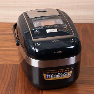 アイリスオーヤマ 銘柄量り炊き圧力IHジャー炊飯器